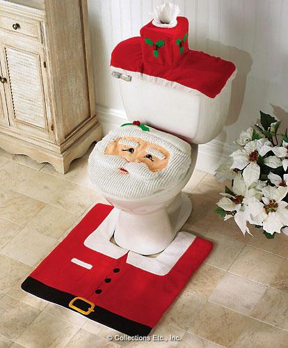 Santa commode set