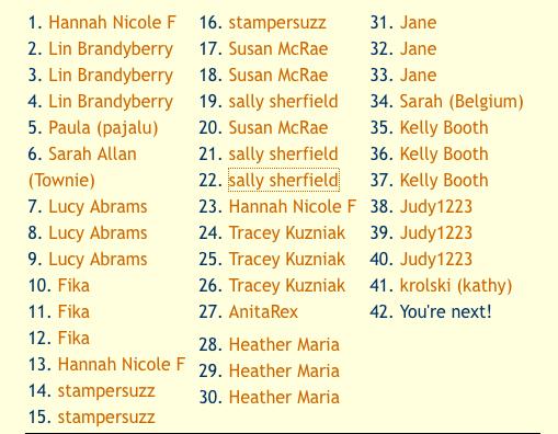 09-26-09 entrants